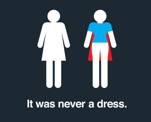 never dress